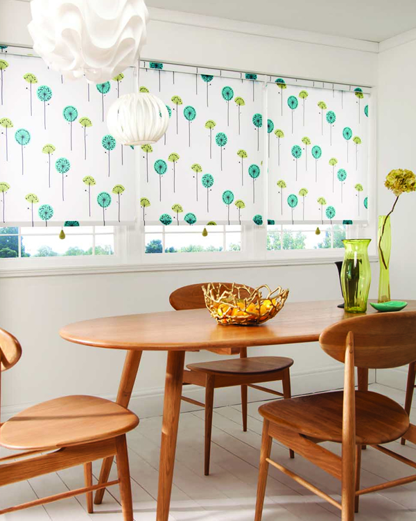 Patterned Blackout Blinds