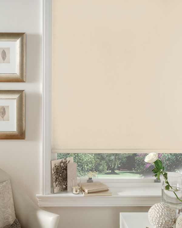 Beige Blackout Blinds