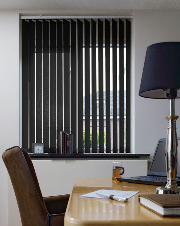 Black Window Blinds : Vertical blinds uk cheap and practical window