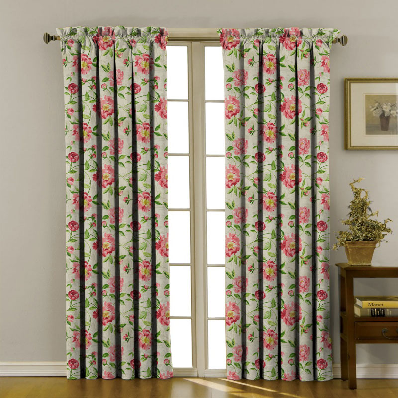 Floral Collection Curtains