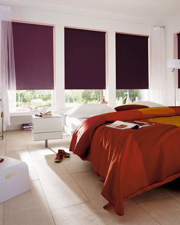 Lilac Blackout Blinds
