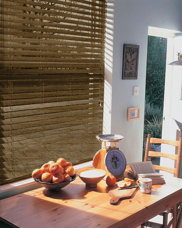 Privacy Wood Blinds