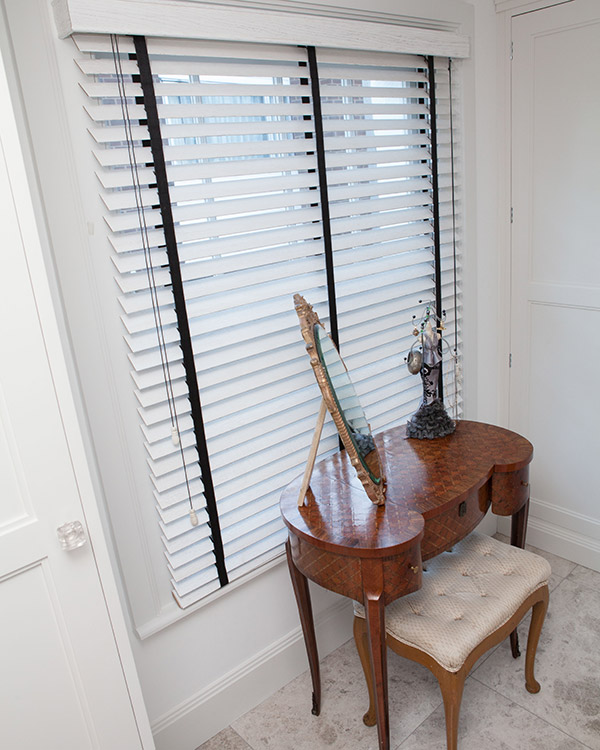 Distressed Wooden Blinds