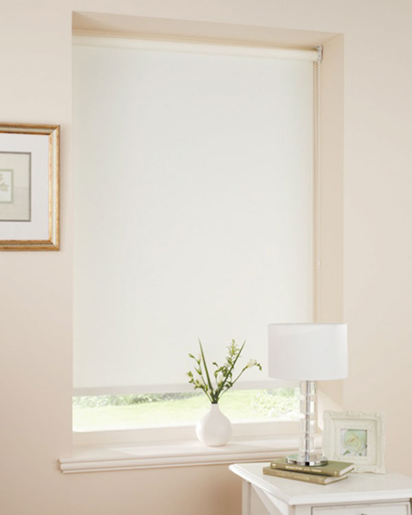 White Blackout Blinds