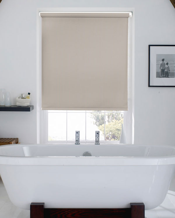Waterproof Marble Silver Blackout Blinds