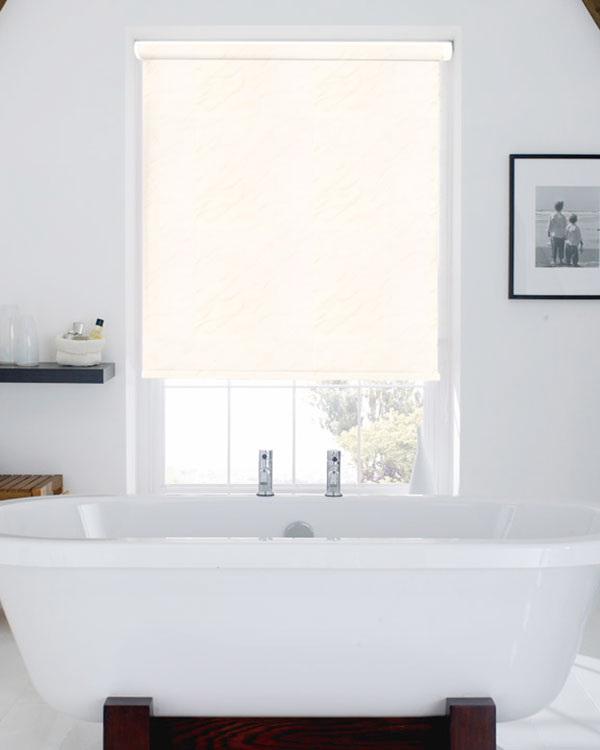 Waterproof Picasso White Blackout Blinds