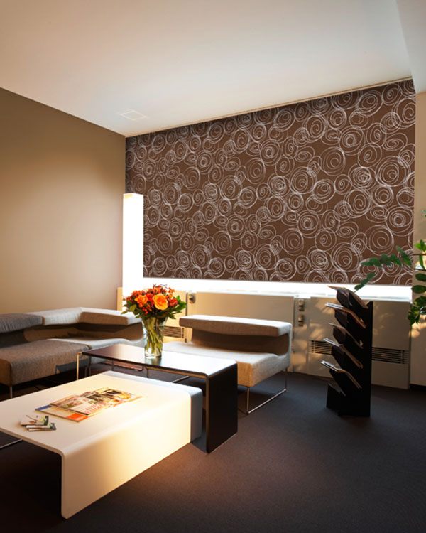 Presto Chocolate Roller Blinds