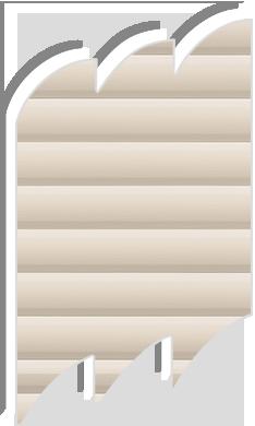 Original pale beige venetian blinds for velux roof windows for Velux ggl 808 dimensions