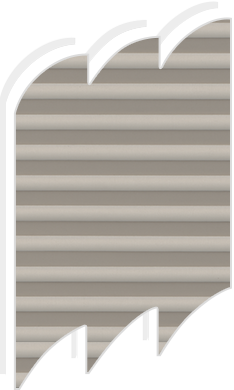 Original pale brown pleated blinds for velux roof windows for Velux ggl 808 dimensions