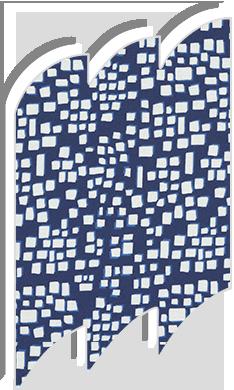 Original square blue roller blinds for velux roof windows for Velux ggl 808 dimensions