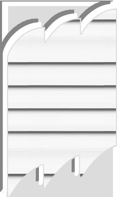 Original white 7001 venetian blinds for velux roof windows for Velux ggl 808 dimensions