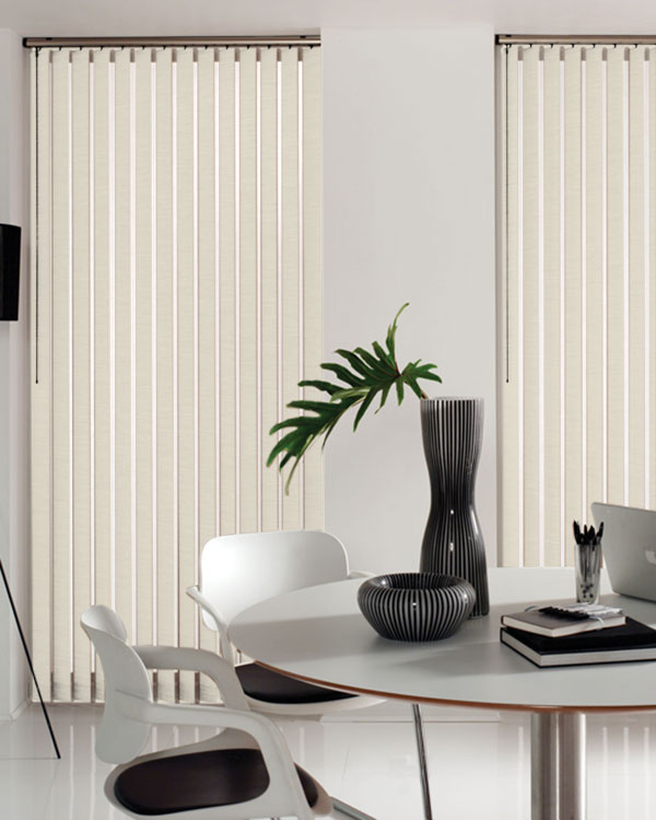 Aztec Ivory Vertical Blinds