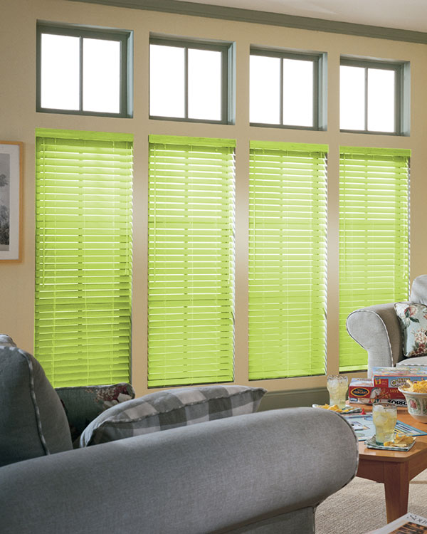 Lime Wooden Blinds