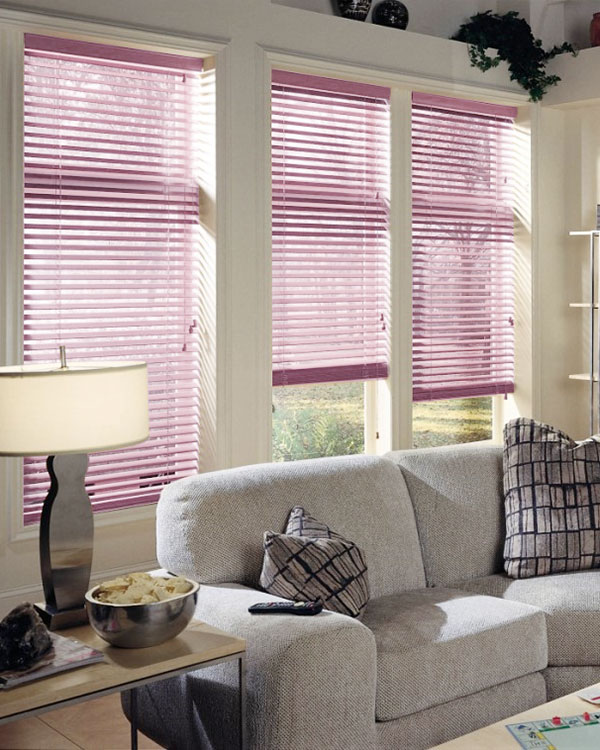 Roze Wooden Blinds