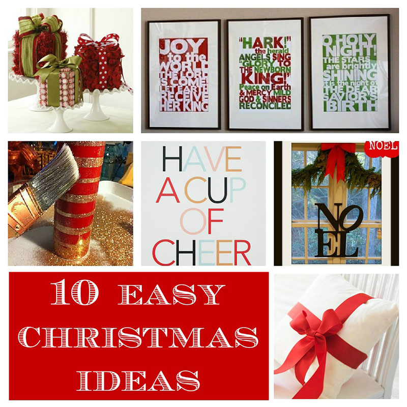 Where to get christmas gift ideas from blog for Homemade christmas decorations uk