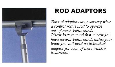 Original natural grained roller blinds for velux roof windows for Velux skylight control rod