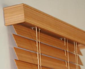 Pelmet returns wood blinds for Blinds outside recess